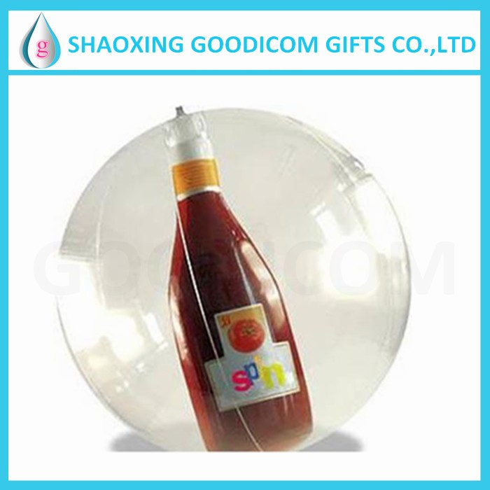 low MOQ advertising PVC giant inflatable clear ball