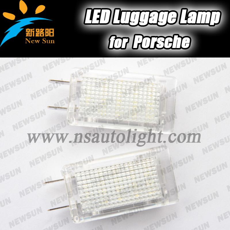 Из светодиодов багаж отсек лампа для Porsche Carrera Boxster каймановых Turbo GT gt3, Ошибка из светодиодов багаж лампа ксенон белый из светодиодов лампа