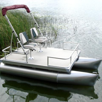 Fishing Pontoon Boats For Sale >> 2018 New Small Mini 2 Person Aluminum Fishing Pontoon Boats For Sale