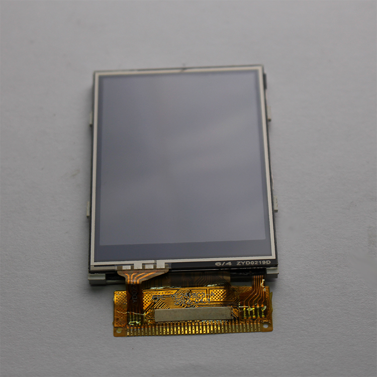 2.4 inch IPS tft lcd module with resistive touch panel screen MCU interface ili9341V Controller