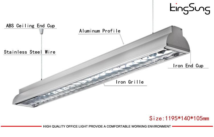 Modern Office Lighting Fixtures Led Light Fitting T8 T5