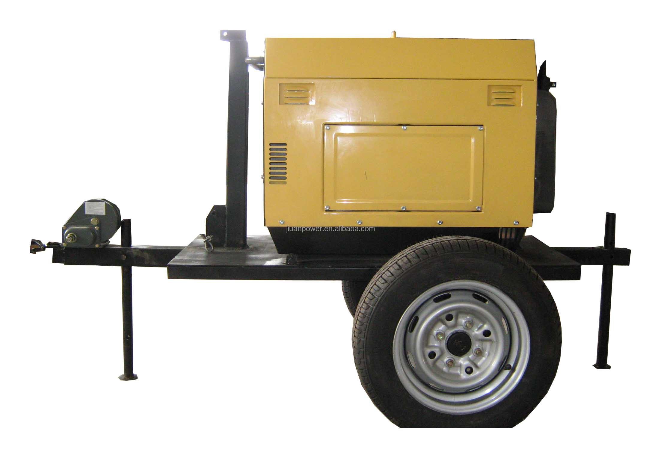 Philippines sel power geneator home use 6KVA Diesel generator