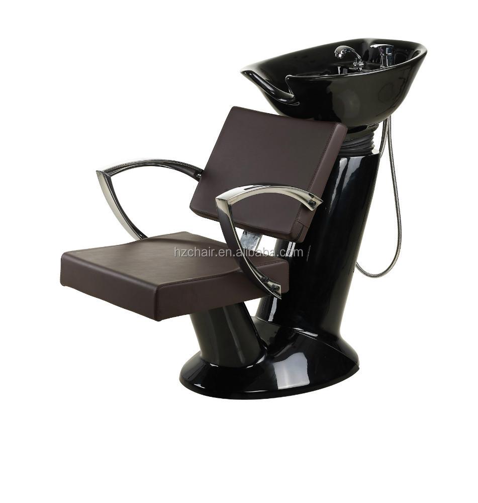 2017 best sale popular salon shampoo chair with basin bowl salon