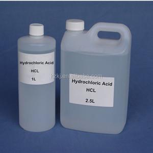 Hydrochloric Acid HCL Food Industrial Fertilizer Grade Chlorhydric Acid  Muriatic Acid