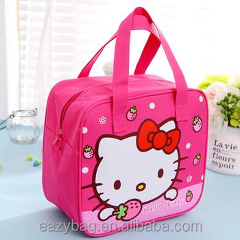 New Fashion Cartoon Hello Kitty Kids Kids Lunch Bag - Buy Lunch ... 8ef82d61f4543