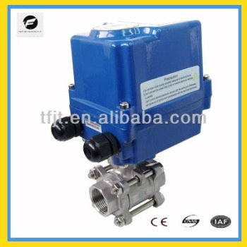 Ctf-004 24v Dc Electric Ball Valve,Pvc Electric Actuator Ball ...