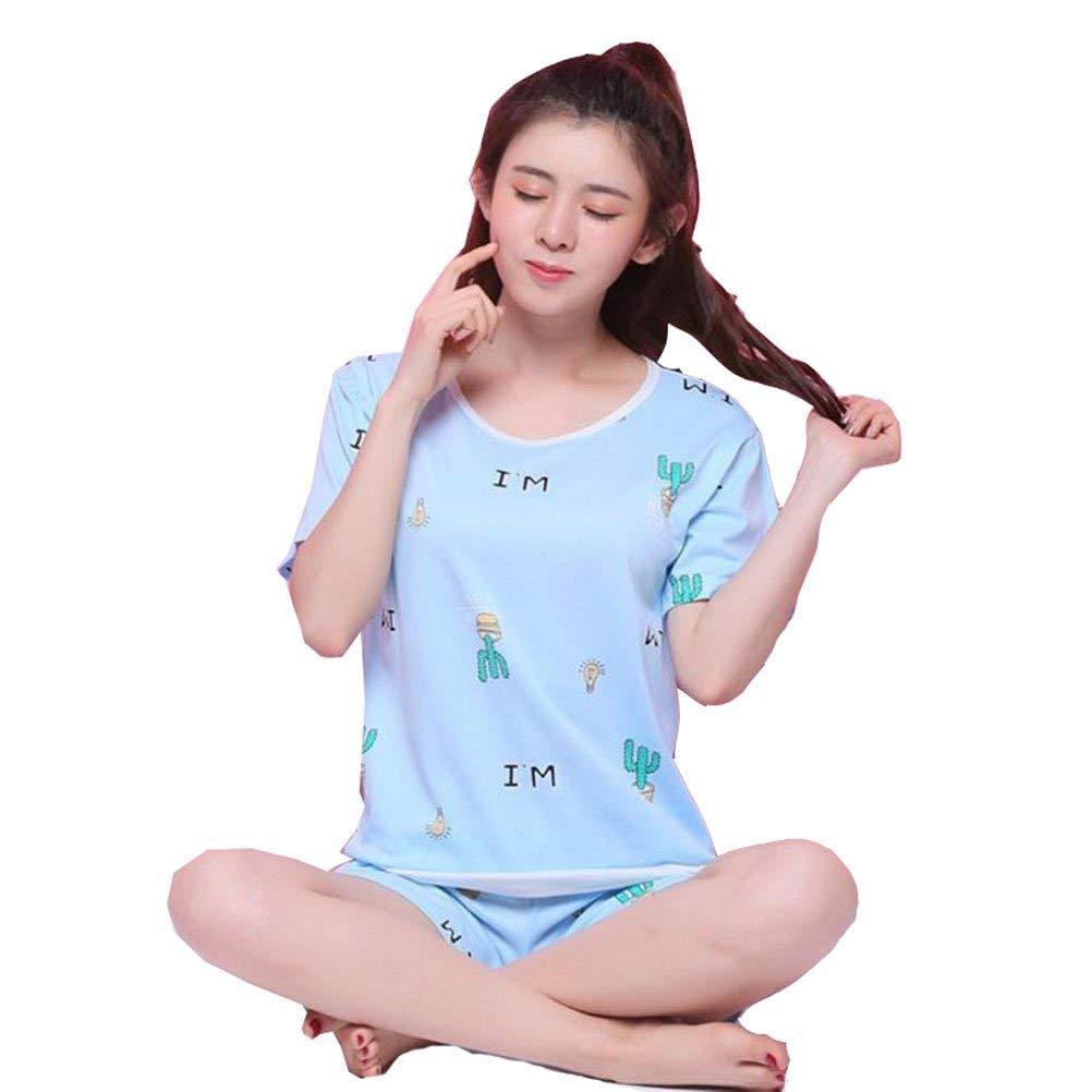 2931136bb5 Get Quotations · KEIA Big Girls Teen Girls Cactus Shorts Summer Pajamas Set  Casual Sleepwear