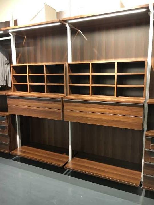 Modern Fair Price Brown Wood Veneer Plywood Walk In ...