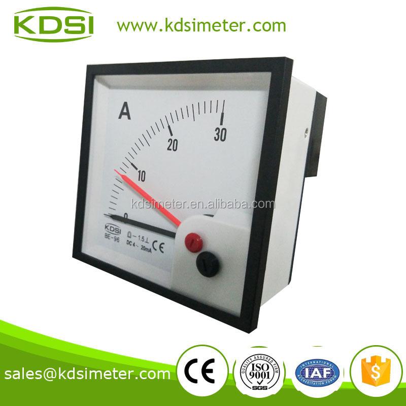 Alta Precisión Ser 96 Dcdc4-20ma 30a Doble Puntero Amperímetro ...