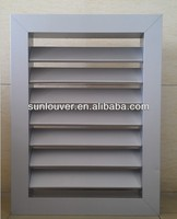 Metal fixed Louver window