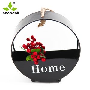 2019 New Fashion metal mini flower succulent pot for garden and home decor