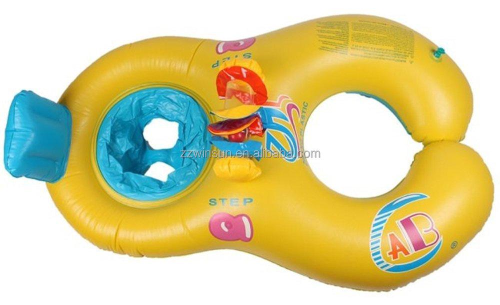 Inflable Doble Del Bebé Swim Flotador Asiento Para La Venta - Buy ...