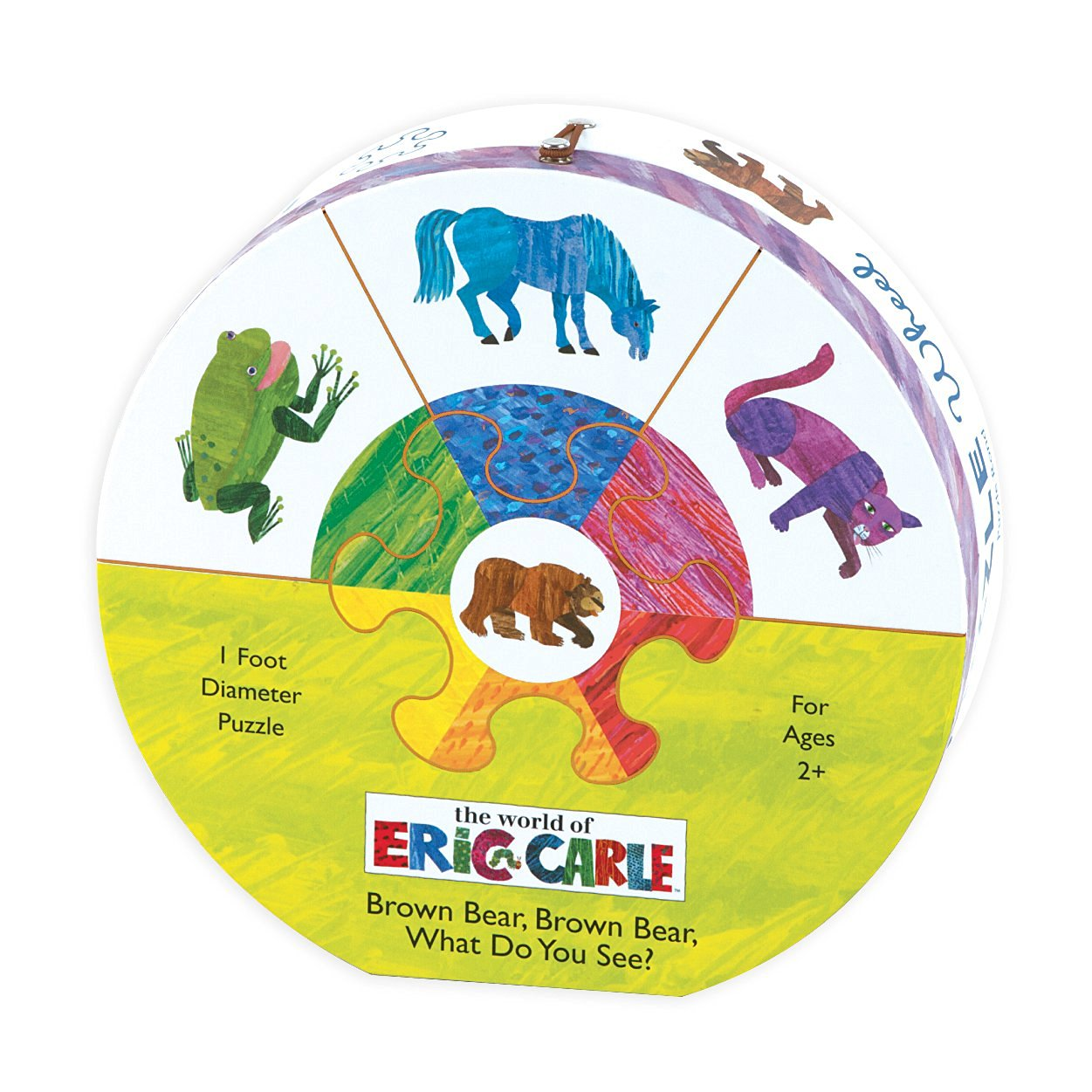 The World of Eric Carle  Brown Bear, Brown Bear What Do You See? Deluxe Puzzle Wheel
