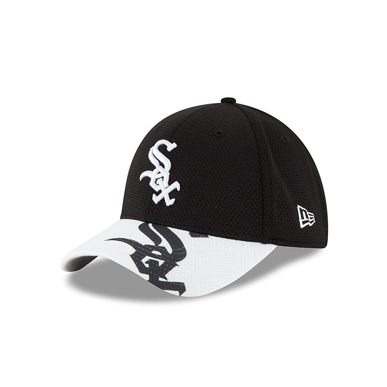 Chicago White Sox New Era 39THIRTY Team Logo Duel Fitted Hat Cap MLB  Official e5d220b7872