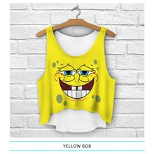 cheap price ready stock cartoon animal printed 3d t-shirt for women