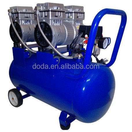 DODA Dental air compressor with 65 Liter gas tank for dental chairt