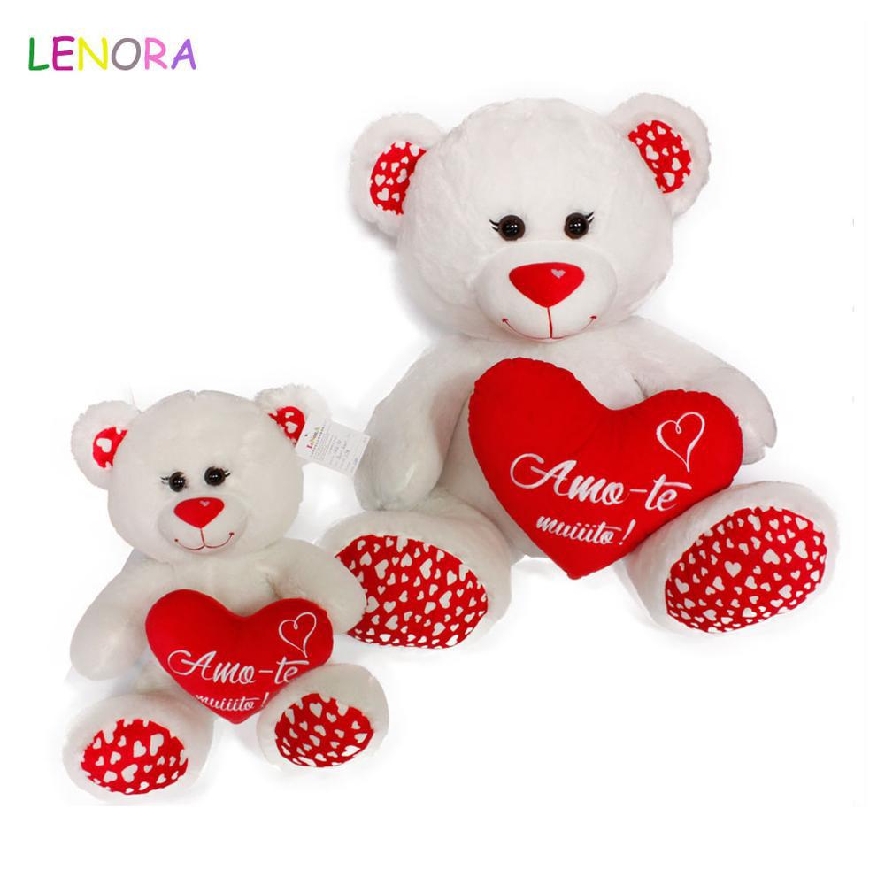 Custom Logo Gifts Stuffed Animals Valentine Plush Love Valentines