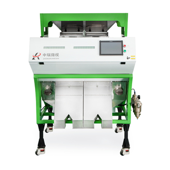 Professional Peanut Color Sorter / Peeling Peanuts Color Sorting Machine