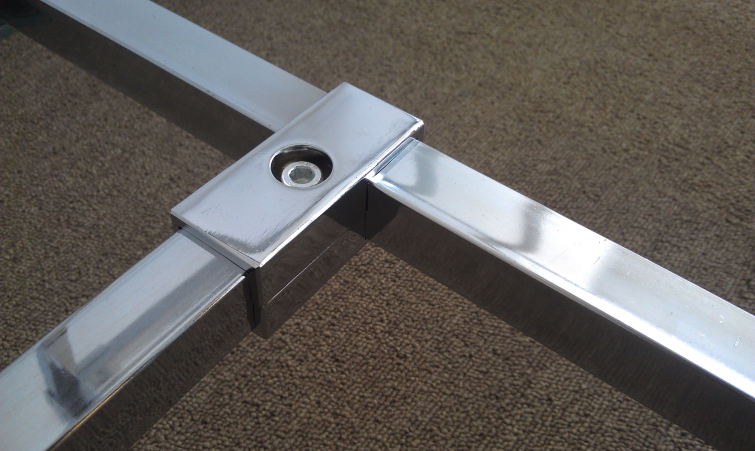 Lot Of 25 New 16 Quot Chrome Square Arm Slatwall Mounting