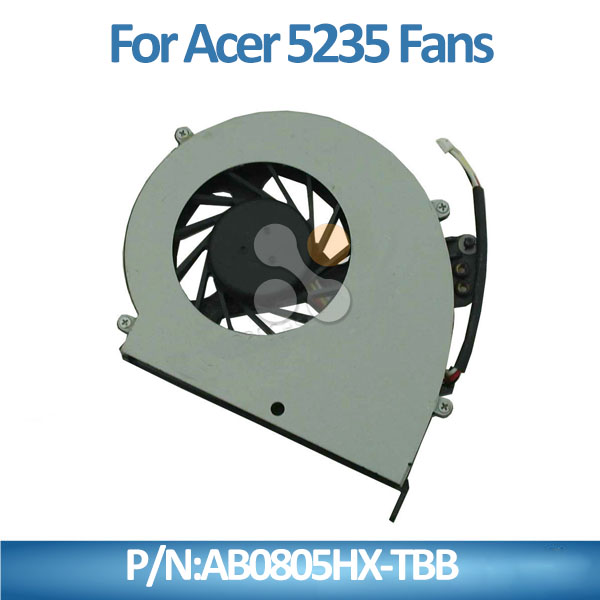 AB0805HX-TBB New cpu cooler fan Spare Parts For Acer 5235 5635 5635ZG ZR6 Series laptop fan