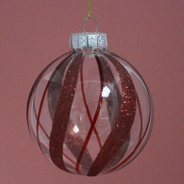 Hanging clear glass ball for christmas ornaments buy