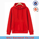 2017 Wholesale Custom Fleece Cotton Basic Plain Dyed Men Printing Pullover Hoodies with hood
