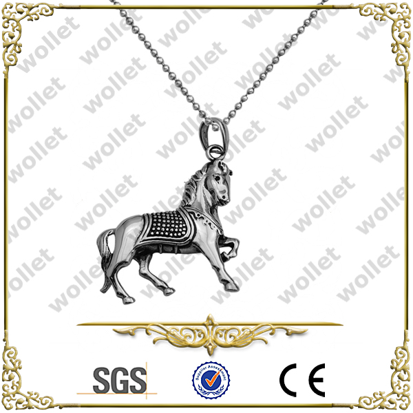 Shenzhen Fashion Wholesale Stainless Steel horse zodiac charms