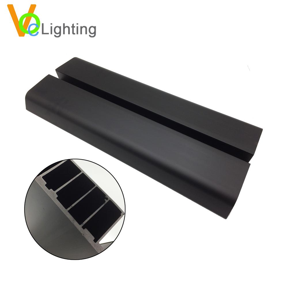 Светодиодный уличный радиатор для печатной платы/645 мм теплоотвод для уличной лампы/Светодиодная трубчатая лампа теплоотвод