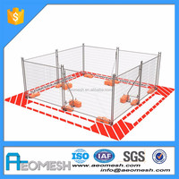 Anping temporary cheap aluminium pool fence (accept customization)