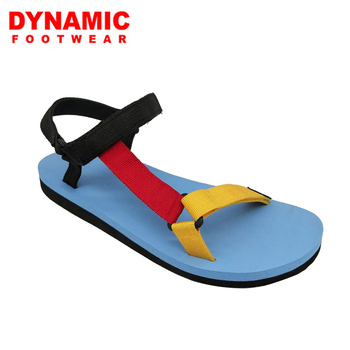 65569d2cd41 Colorful strap textile upper low price light weight sandals for women and  ladies