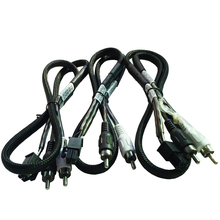 molex 4pin male to casero vga 2 male rca cable