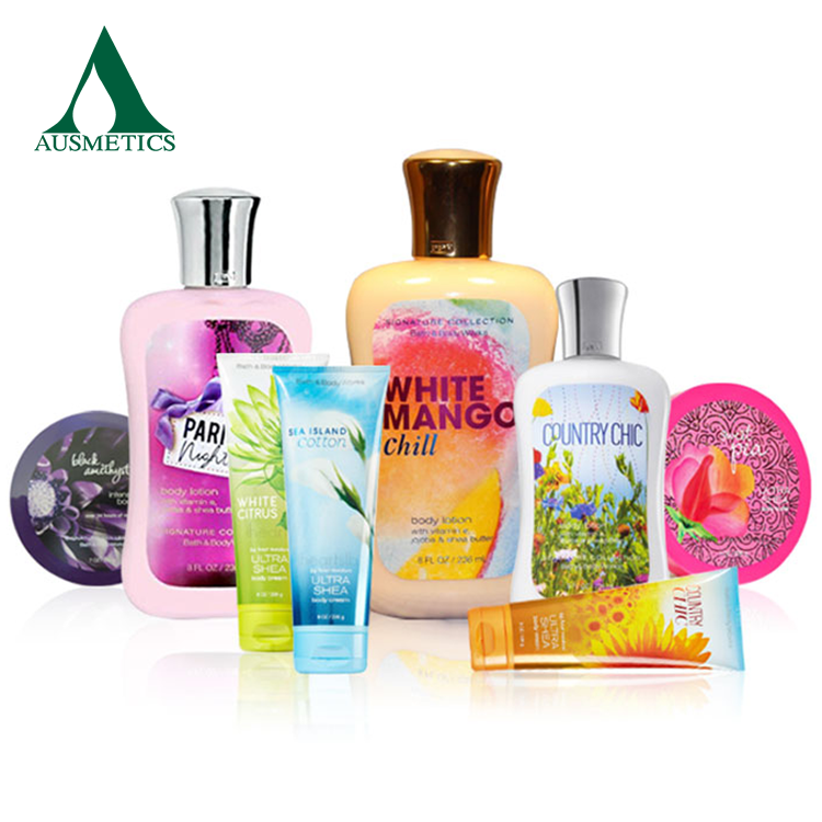 Ausmetics shea butter body lotion,spa body lotion,baby skin whitening lotion