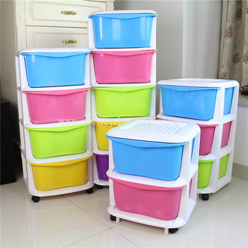 candy color 4 tier plastic clothes storage box drawer buy storage box drawer clothes storage. Black Bedroom Furniture Sets. Home Design Ideas