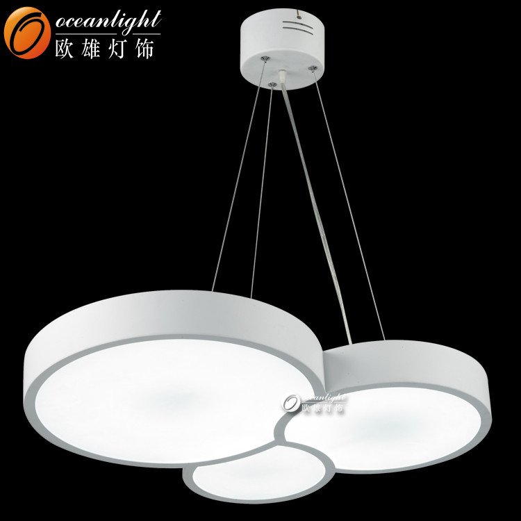 Zhongshan lighting factory wholesale 45W Modern LED pendant light for dining room OMD8003
