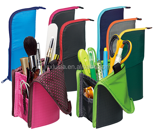Creative new products multi-function fancy pencil bag pencil holder