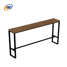 Cheap Modern Metal Steel Bar Table Used Bar/Bistro/Cafe
