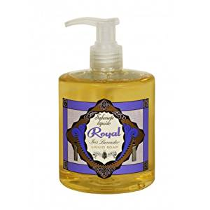 Claus Porto Deco Collection Royal - Iris Lavender Liquid Soap-13.5 oz.
