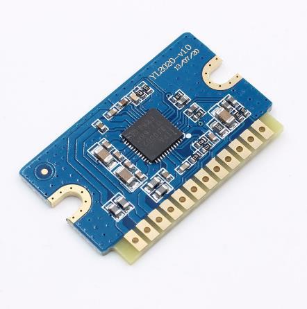 2x20w 12v 24v Mini Stereo Audio Amplifier Board Yl2020 V1 0 Dual Channel  Class D Amp Module - Buy Class B Optical Module,Cc1110 Modules,Digital