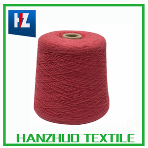 2/30nm 55%cotton 35%viscose 7%nylon 3%angora yarn