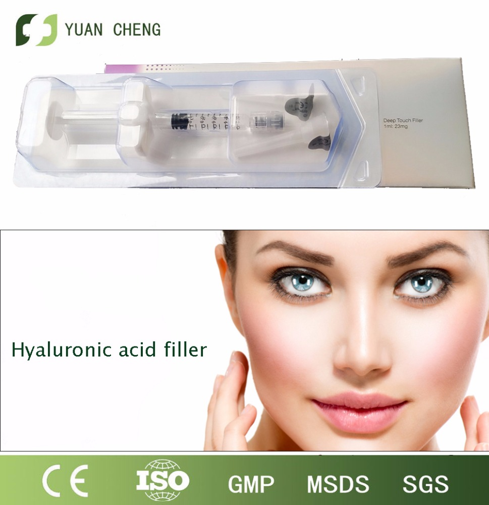 Hyaluronic acid filler keep your natural beauty skin