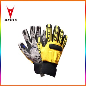 save hands safety gloves with silicon gel