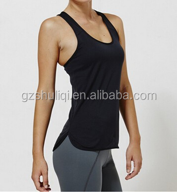 OEM New Sexy Young Stripe Sleeveless Women Sport Tank Top