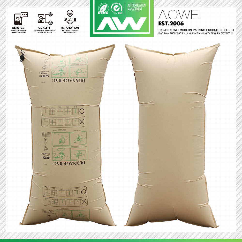 High quality Kraft big airbags inflators air dunnage bags for transport