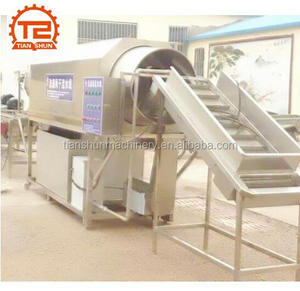 Rotary Drum Brush Washing Machine for Fruits and Vegetables