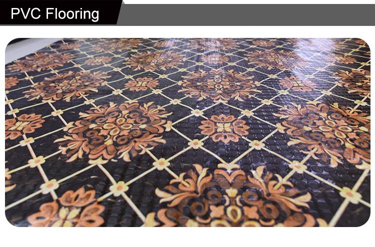 Filippijnen goedkope prijzen linoleum vloeren roll voor interieur