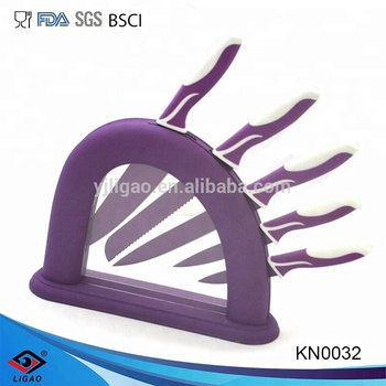 hot selling kitchen knife for cutter knife with knife block set