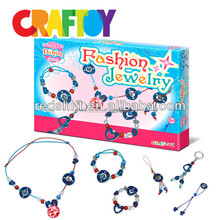Fashion denim jewelry kit en71 Teaching Material diy jewelry set