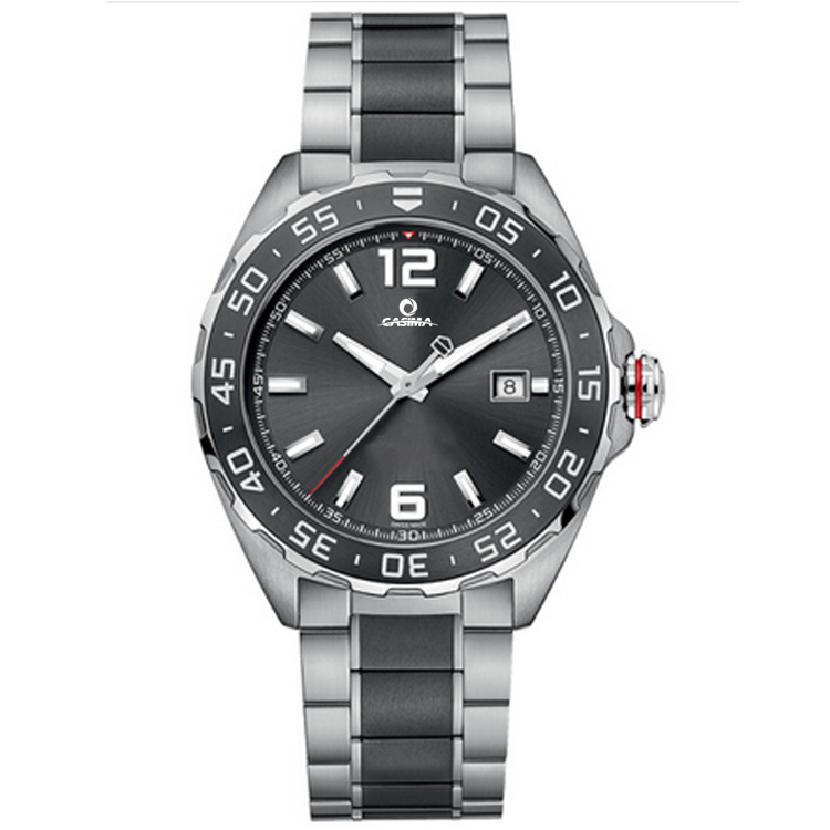 Casual design stainless bezel mechanical watches for men