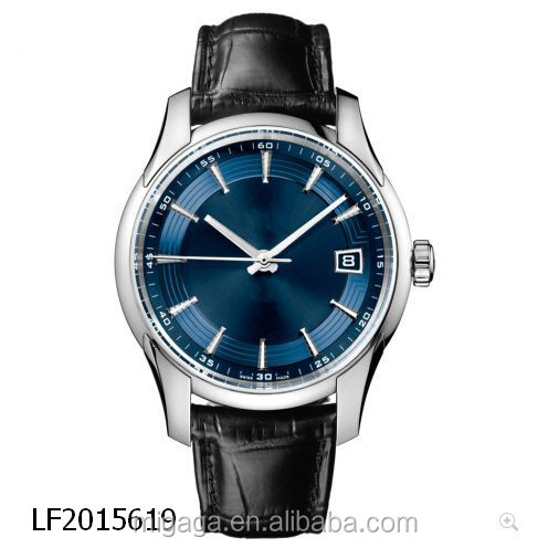 luxury automatic watches real leather watch high quality