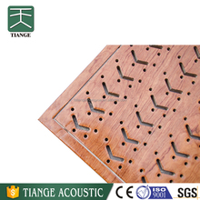 Sound proofing acoustic perforated ceiling board